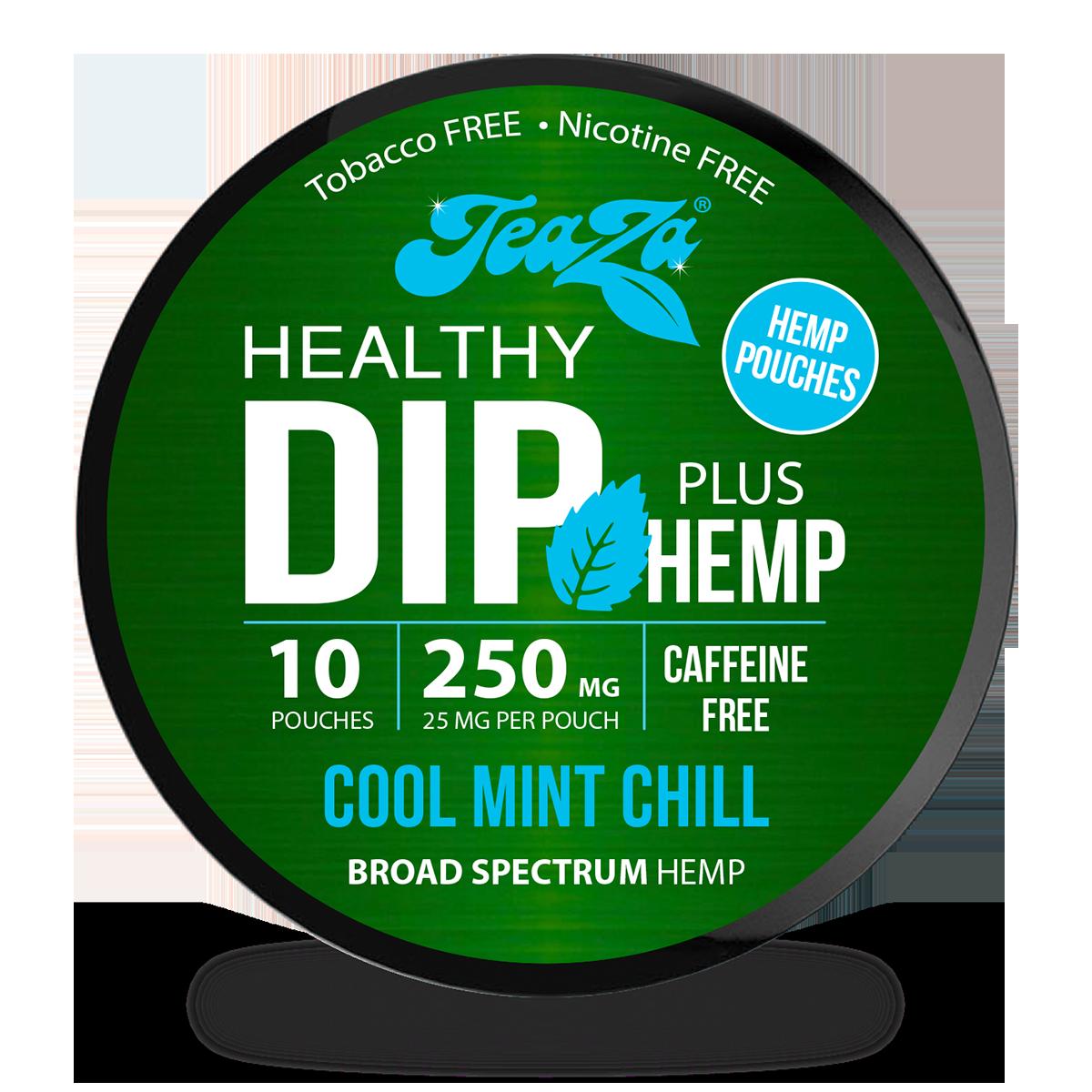 Cool Mint Chill Hemp Dip Pouches